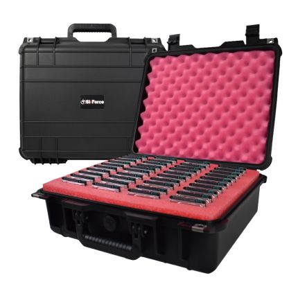 SiForce S40 Hard Drive Transport Case - Fits 40 x 2.5 inch Hard Drives