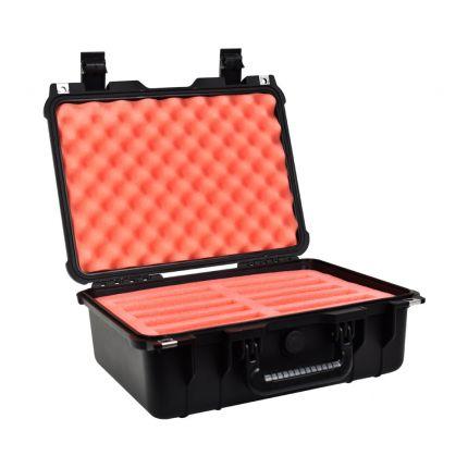SiForce L10 Hard Drive Transport Case - Fits 10 x 3.5 inch Hard Drives