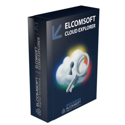 Elcomsoft Cloud Explorer