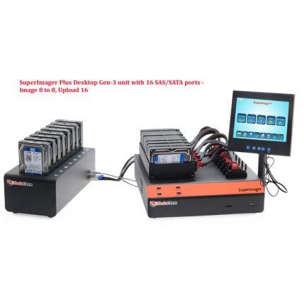 MediaClone SuperImager Plus Desktop Gen-3 Forensic Lab with 16 SAS/SATA Ports
