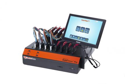 MediaClone SuperWiper Desktop NVMe + SATA Ports Mix Standalone Drive Eraser Unit